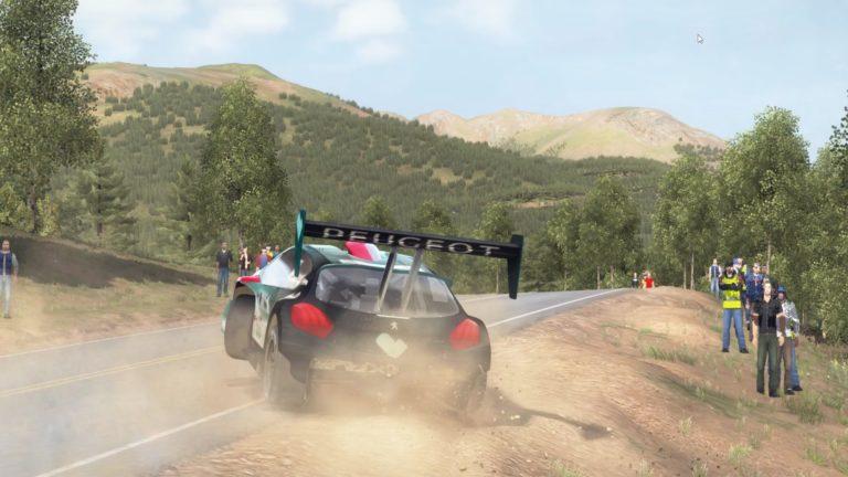 campeonado de montaña 2018 de dirt rally prueba de asfalto