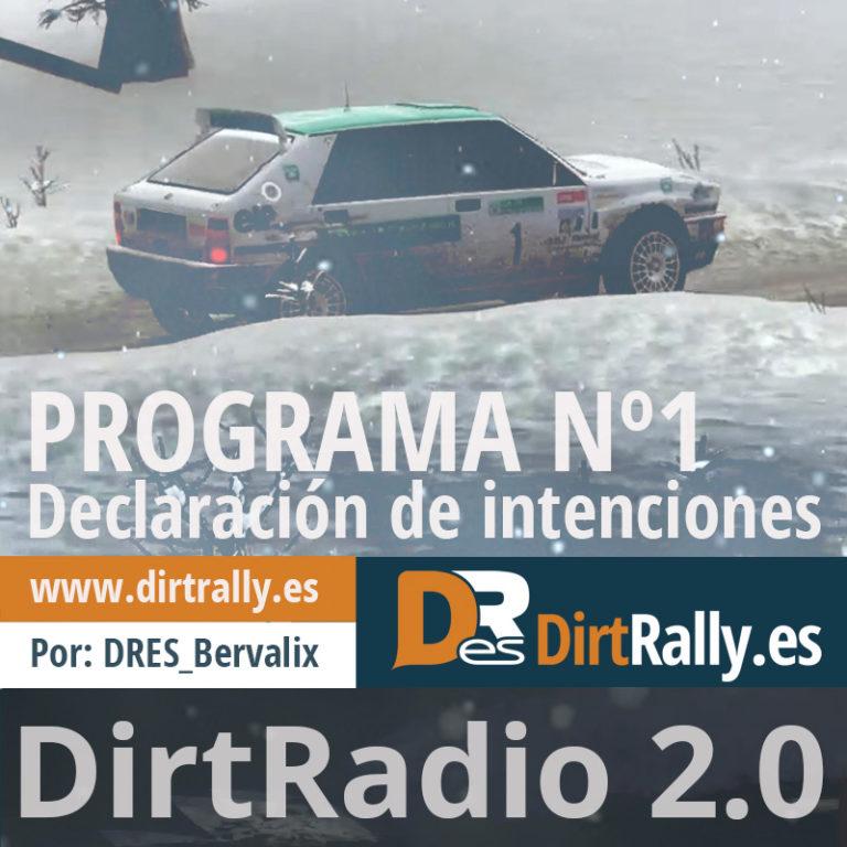 podcast dirt radio 2.0 declaración de intenciones y presentación