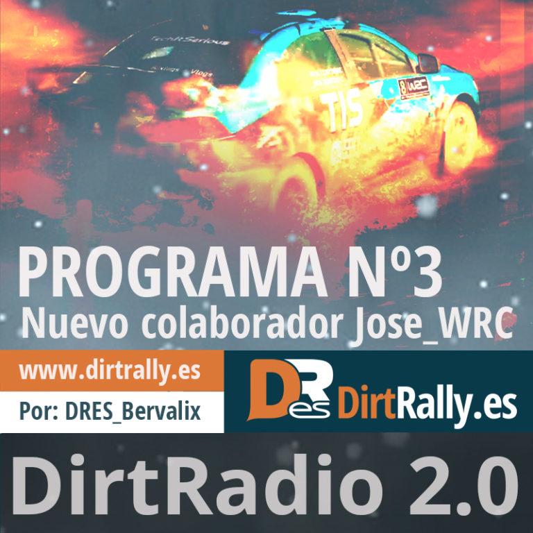 podcast dirt radio 2.0, tenemos un nuevo colaborador, Jose_WRC