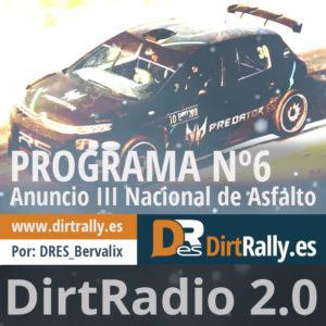podcast dirt radio 2.0, repasamos la III temprada del Nacional de Asfalto