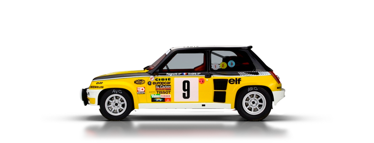 Renault 5 turbo dirt rally