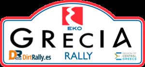 placa rally de grecia dirt rally 2.0