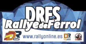 placa nacional de asfalto RBR rally Ferrol