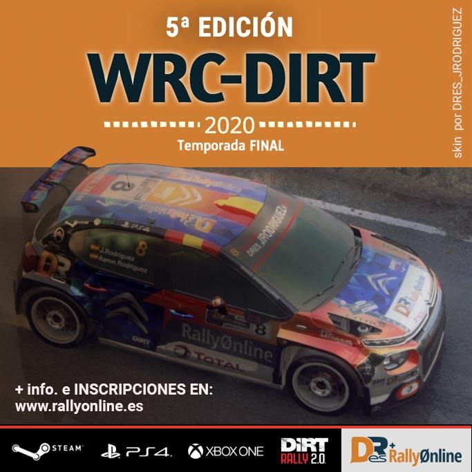 Campeonato wrc-dirt 2020 temporada final