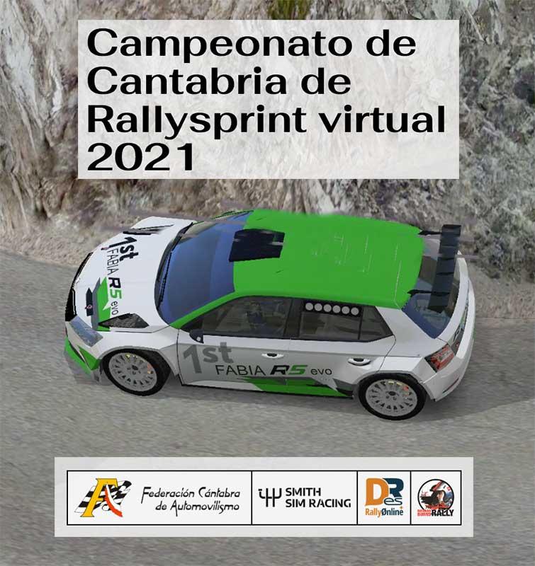 campeonato oficial de Cantabria de Rallysprint virtual 2021